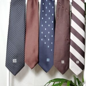 Vintage Givenchy Men's Ties